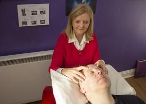 Access Bars therapist Gretta Murphy at work in Cork