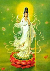 Waterford / Cork Magnified Healing image - KwanYin